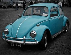 I love old beetles!