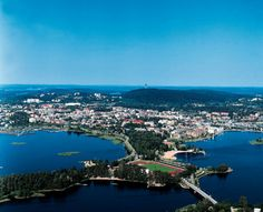 Kuopio in Eastern Finland Cities In Europe, Attraction, Scenery, River, Adventure, City, Places, Nature, Outdoor