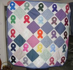 Cancer Awareness Quilt