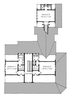 Historical Concepts + Second Floor Plan