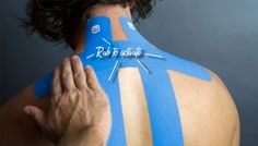 STRENGTHTAPE: Neck Strain Application #kinesiologytape #lifestrength