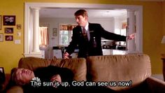 30 Rock - The sun is up, God can see us now! - S4E9  Kenneth & Jack