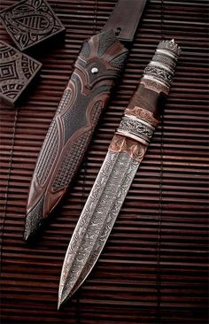 mag1001:  Handmade Viking Knife by André Andersson