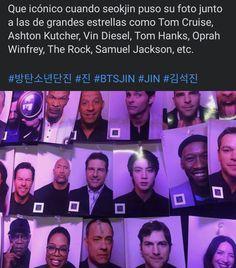 Bts Jin, Bts Jungkook, Taehyung, Tom Hanks, Oprah Winfrey, Seokjin, Tom Cruise, Yoonmin Fanart, Bts Tweet