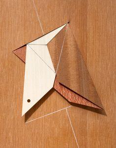 Artistic veneer use by Wim Wauman - Decospan
