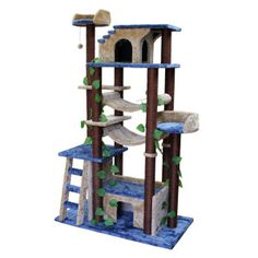 Kitty Mansions Amazon Cat Tree Furniture - PetSmart