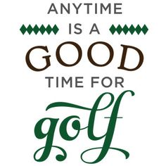 Silhouette Design Store: Anytime Is Good Time For Golf Phrase Silhouette Clip Art, Silhouette Cameo Projects, Silhouette Design, Silhouette Portrait, Happy Birthday Golf, Golf Tips Driving, Golf Mk2, Golf Party, Golf Tips For Beginners