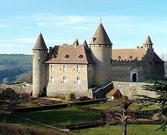 Château de Virieu, 38730 Virieu, Isère, France - www.castlesandmanorhouses.com