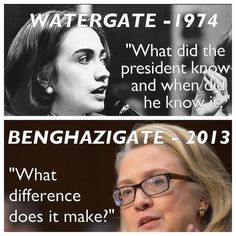 Bam: Hillary Clinton, from Watergate to Benghazi [pic]