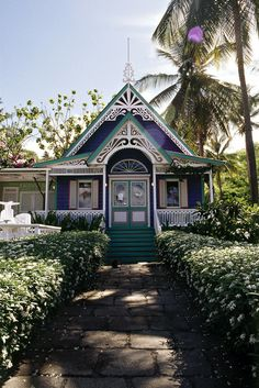 Victorian Era Homes On Caribbean Islands