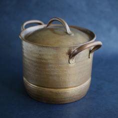 蒸し器 銅を鍛金、ステンレスの受皿 デザイン ヨーガン レール