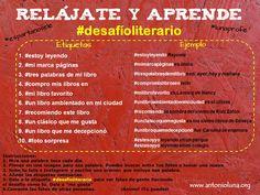 #desafioliterario Antonio Luna