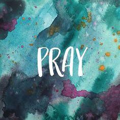 I pray because I can't help myself. I pray because I'm helpless. I pray because…