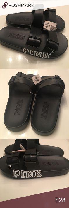 d86e2836650d NWT PINK Slides Size Small Never been worn PINK Victoria s Secret Shoes  Sandals