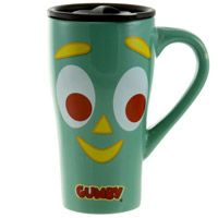 Gumby Ceramic Travel Mug With Lid