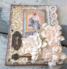 My artistic musings. Scrapbook Page Layouts, Scrapbook Pages, Scrapbooking, Graphic 45, Altered Boxes, Altered Art, Victorian Decor, Paper Artist, Blue Quilts