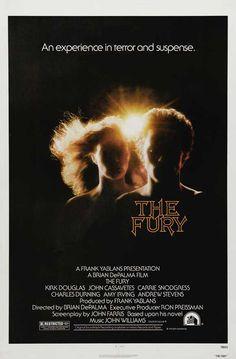 The Fury A Brian de Palma Film basado en la novela de John Farris. Con Kirk Douglas; John Casavetes; Charles Durning; Amy Irving;  Andrew Stevens; Carrie Snowgress.