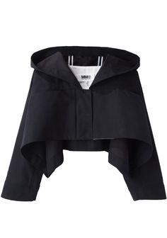 LOVE THIS!!!! MM6 by Maison Martin Margiela Cropped Jacket | La Garçonne