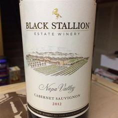 2012 Black Stallion Estate Winery Cabernet Sauvignon