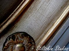Chalk Paint® decorative paint by Annie Sloan Craqueleur by Stiltskin Studios