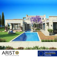 Buy a property from Aristo Developers and watch your investment grow plus obtaining the EU Citizenship within 90 days. For more information call us now: 01227555526