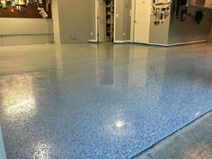 Your tangible garage flooring takes a lot of abuse from moisture, oil drips, chemical spills and road salt as it ages. #garageflooringdiy