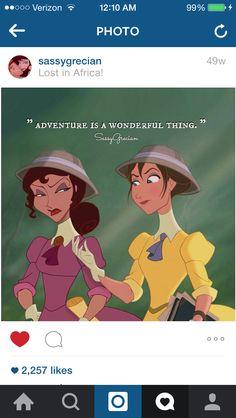 Jane and Meg