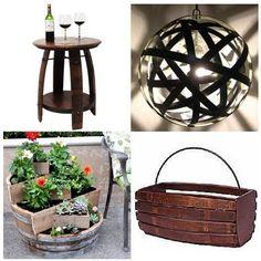 Reciclar barriles de vino
