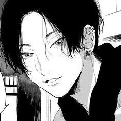imagen descubierto por okami001. Descubre (¡y guarda!) tus propias imágenes y videos en We Heart It Manga Boy, Manga Anime, Anime Art, Pretty Art, Cute Art, Aesthetic Art, Aesthetic Anime, Arte Indie, Anime Monochrome