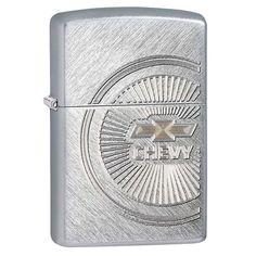 Zippo Chevy Herringbone Sweep Lighter