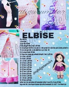 Crochet Dolls Texts Origami Elsa Doll Hair Build Your Own How To Make Crafts Tricot Amigurumi Doll Image may contain: text – Sharing Women Crochet Doll Pattern, Crochet Dolls, Crochet Patterns, Crochet For Boys, Crochet Baby, Turtle Pattern, Pencil Toppers, Doll Hair, Amigurumi Toys