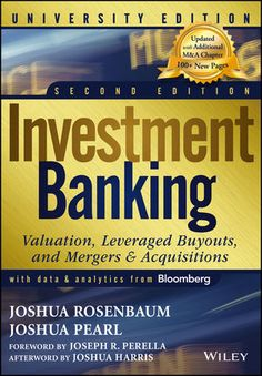 You Will download digital word/pdf files for Complete Solution Manual for Investment Banking: Valuation, Leveraged Buyouts, and Mergers and Acquisitions, University 2nd Edition by Joshua Pearl, Joshua Rosenbaum  9781118472200
