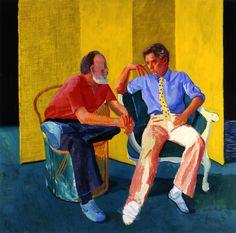 David Hockney, 'The Conversation,' 1980, Richard Gray Gallery