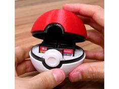 Pokeball Switch Cartridge Holder by Kickass3DPrints - Thingiverse