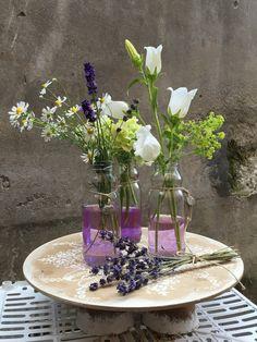 Centrotavola  in Lavanda  Cristina Gragnolati & Chiara Martini  Le ragazze dei fiori, Torino (Italy)  #floraldesign #wedding #flower #decoration