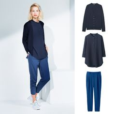 We love these draped joggers for every season! How would you style them? Tomboy Outfits, Kids Outfits, Casual Outfits, Casual Street Style, Work Casual, Boyish Style For Girls, Simple Style, My Style, Minimalist Fashion