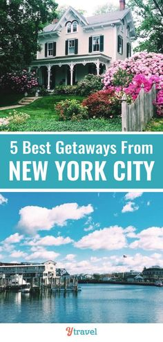 Looking for New York City weekend getaways? Here are 5 fantastic getaways from NYC within a few hours drive. Escape the madness of New York with these travel tips. These East Coast USA vacation destinations are a quick road trip away from the hustle and bustle.  Ideas for history, nature, tours and more. #NewYorkCity #NYC #NY #travel #traveltips