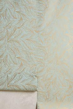 Featherlight Wallpaper. ANTHROPOLOGIE $118/ROLL