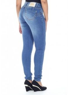 Jeans push-up brasiliani Sawary vita medio-bassa cod. 242757