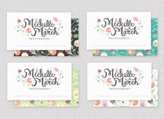 Photography Branding: Michelle March! : Kris10 Smith Blog