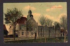 Ansichtskarte Czluchow Schlochau Kreishaus oder Landratsamt 1912 Pommern 0