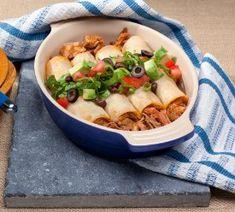 Pulled Pork Enchiladas - Quick Meal