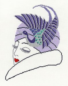 Judy Cross Stitch Kit by Heather Anne Designs for Classic Embroidery