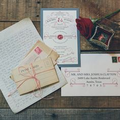 Vintage-Inspired Invitation Suite | Todd White Photography | TheKnot.com