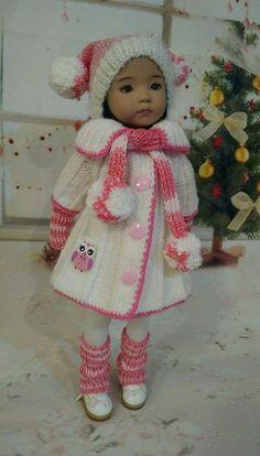 "Outfit for dolls Dianna EFFNER LITTLE DARLING 13"" #handmade"