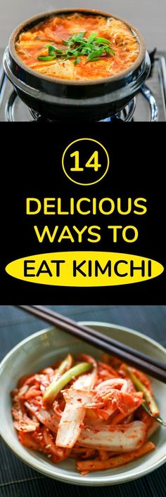 How to Eat Kimchi - 14 Delicious Ways to Cook with Kimchi | MyKoreanKitchen.com #kimchi #koreanfood