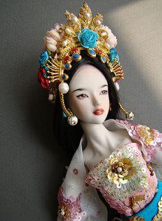 Lady White's opera dress
