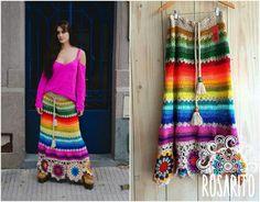 Fabulous Crochet a Little Black Crochet Dress Ideas. Georgeous Crochet a Little Black Crochet Dress Ideas. Crochet Bodycon Dresses, Black Crochet Dress, Crochet Skirts, Crochet Clothes, Diy Clothes, Hippie Crochet, Crochet Art, Hippie Dresses, Crochet Fashion