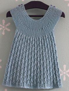 Dress 9-12 months. By Dorthe Hass www.garn-iture.dk