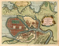 Plan of St Petersburg; with it's Fortifications, Built by Peter the Great in 1703 .